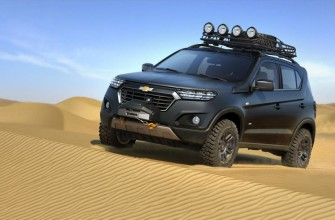 Chevrolet Niva concept breaks cover
