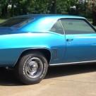 A 1969 Chevrolet Camaro RS/SS comes home