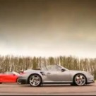 Audi R8 Spyder vs. Porsche 911 Turbo Cabriolet