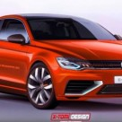 VW NMC Two-Door Body Style Rendered Online
