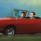 Along came a topless 850: 1967 Fiat 850 Spider brochure