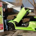 Man Wins Lamborghini, Man Crashes Lamborghini